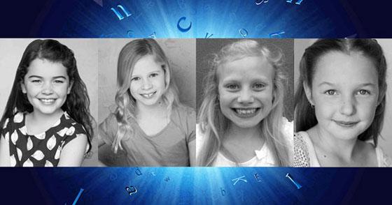 The Sydney Matildas - Molly Barwick, Sasha Rose, Georgia Taplin and Bella Thomas