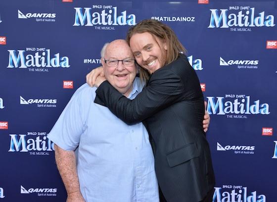 Tim & Father Bob Maguire