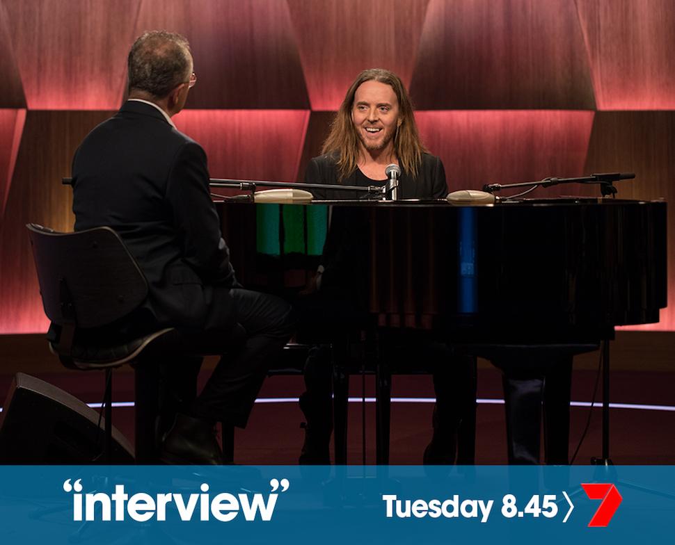 Andrew Denton's Interview. Picture Belinda Pratten.
