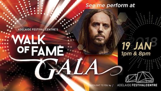Adelaide Festival?Centre's Walk of Fame Gala 2018