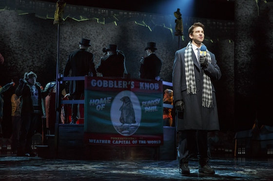 Andy Karl as Phil Connors Photo by Joan Marcus