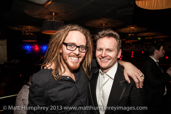 Tim and Joe at Ronnie Scott's earlier this year